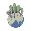 Erde in Gefahr | Stock Vektrografik