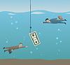 Векторный клипарт: рыбалка