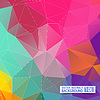 Векторный клипарт: Абстрактный геометрический фон. Прямолинейное дизайн