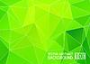 Векторный клипарт: Абстрактный зеленый фон треугольник, EPS10