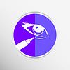 Векторный клипарт: консилер палку, чтобы скрыть круги под глазами или