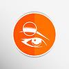 Векторный клипарт: Глаз человека глаз бровь человеческого женского макияжа красоты