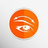 Векторный клипарт: Ресницы и брови ресницы глаза значок макияж