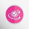 Sonnenschutz Bausteinsymbol sunblock sk