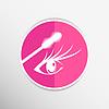Векторный клипарт: тушь для глаз кисти краска инсульта макияж ресниц