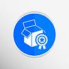 Векторный клипарт: ПРЕМИУМ окно дизайн иконок упаковка