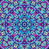 Streszczenie Kolorowe Digital Flower dekoracyjnej. | Stock Vector Graphics