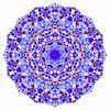 Abstrakcyjna okręgu kolorowe tło. Mozaika okrągłe   Stock Vector Graphics