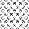 Fußball-Kugel-nahtloser Hintergrund