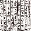 Ägyptische Hieroglyphen nahtlose Hintergrund