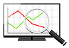 Statistic analysis   Stock Illustration