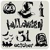 Векторный клипарт: Хэллоуин
