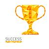 Векторный клипарт: Успех Кубок