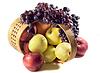 Äpfel und Trauben | Stock Foto