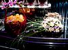 Braut `s Bouquet. Obstkorb | Stock Foto