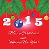 Weihnachtskarte | Stock Vektrografik