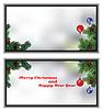 Векторный клипарт: небольшой Рождественская открытка
