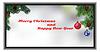 Векторный клипарт: в мини-Рождественская открытка