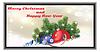 Векторный клипарт: небольшой открытка с новым годом