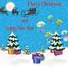 Векторный клипарт: рождественские открытки