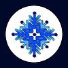 Векторный клипарт: каракули снежинка