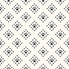 Vektor Cliparts: Nahtlose Tier Muster von Pfote Fußabdruck und Punkt