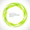 Abstrakter grünen Wirbel Kreis hellen Hintergrund | Stock Vektrografik
