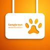 Vektor Cliparts: Applikation Hunderennbahn Symbol Rahmen. für glückliche ani