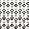 Vektor Cliparts: Nahtlose Tier Muster von Pfote Fußabdruck