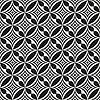 Schwarz und weiß abstrakte nahtlose Muster