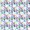 Kolorowe szwu z Zajączek | Stock Vector Graphics