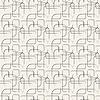 Streszczenie linii geometrycznych i kwadratowy wzór bez szwu | Stock Vector Graphics