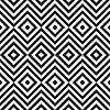 Ethnische Stammes Zickzack und Raute nahtlose Muster | Stock Vektrografik