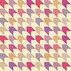 추상 레트로 원활한 패턴 | Stock Vector Graphics