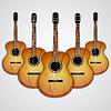 Векторный клипарт: Акустическая гитара
