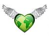 Векторный клипарт: Любовь концепции планеты