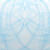 Векторный клипарт: абстрактный синий фон волны