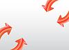 Векторный клипарт: Arrow фоне