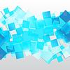 Векторный клипарт: абстрактный фон с квадратной
