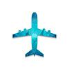 Векторный клипарт: Иконка самолет
