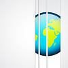 Векторный клипарт: Фон с планеты
