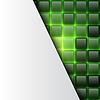 Векторный клипарт: Светящиеся квадрат