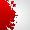 Векторный клипарт: Фон с красными вкраплениями