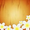 Векторный клипарт: цветочный фон с розами