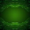 Векторный клипарт: электронная схема