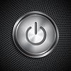 Векторный клипарт: Кнопка включения / выключения