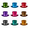 Векторный клипарт: Набор классических шляпе