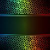 Векторный клипарт: Neon фоне