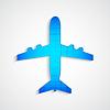 Векторный клипарт: Головоломка самолет