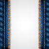 Векторный клипарт: Джинсовая текстура